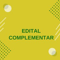 EDITAL COMPLEMENTAR Nº 010/2020
