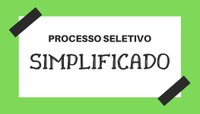 Seletivo Simplificado - Relação de candidatos inscritos e local de provas